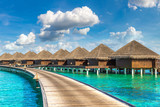 Water Villas (Bungalows) in the Maldives - 220339369