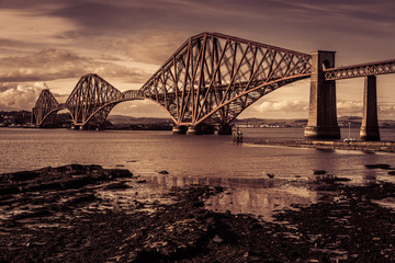 Forth Road Bridge near Edinburgh, Scotland © Ilias Kouroudis
