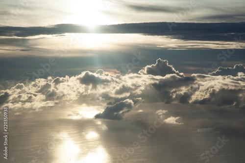 Beautiful blue sky - 220350938