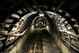 Underground tunnel in coal mine - 220366168