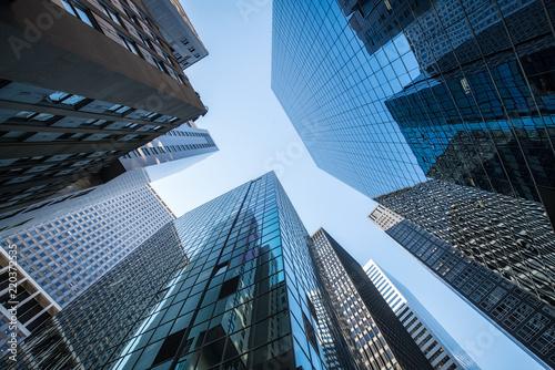 fototapeta na ścianę Hochhäuser und Büros in New York City, USA