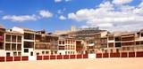 El Coso square of Penafiel, Valladolid province, Castilla-Leon, Spain - 220375101