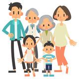 家族 3世帯 - 220378559