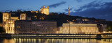 View of Lyon by night. France. - 220429560