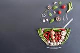 Soup bowl concept - 220434978