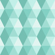 Seamless pattern of triangles and hexagons.