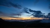 early morning sunrise time lapse taken at Ranau Sports Complex - 220460988