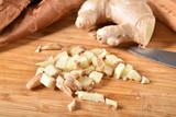 Chopped ginger - 220465181