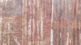 Close up old rusty galvanized, Corrugated iron siding vintage texture background - 220483955