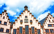 The Roemer is a medieval building in the Altstadt of Frankfurt am Main, Germany, and one of the city's most important landmarks and has been the City Hall (Rathaus) of Frankfurt for over 600 years.