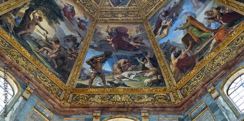 Interior view of Medici Chapel