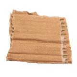 Morceau de carton ondulé déchiré - 220504356