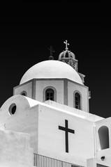 Fira Catholic Cathedral Mono