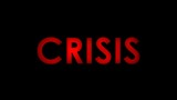 Crisis - Red warning message text on black background.  - 220524109