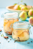 Preparation for fresh pickled pears in the jar - 220553100