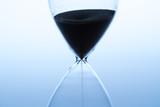 Sand clock, business time management concept - 220554735