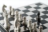 Chess business concept, leader teamwork & success - 220554790