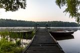 Fototapeta Room - Widok na jezioro w Polsce, Mazury © hunter76