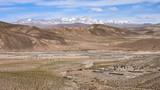 Dramatic landscapes of the mountains of the Cordillera de Lipez, in Sur Lipez Province, Potosi department, Bolivia - 220588712