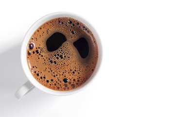 Cup of coffee with foam © Sasajo