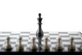 Chess business concept, leader teamwork & success - 220636731