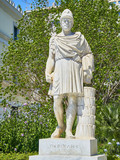 Statue of Pericles at the Athinas street of Athens. Attica, Greece. - 220636903