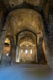 Interior del Monasterio de Sant Pere de Caserres, Cataluña, España - 220638735