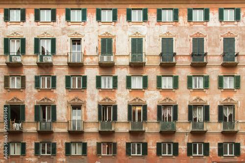 Historic Roman Apartment Building