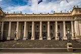 Melbourne Parliament House in Victoria, Australia, in the summer - 220664767