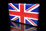 Flag of Great Britain 3D volumetric - 220670318