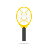 Electric mosquito racket vector isolated - 220671761