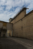 Walls of an Old Prison and Watchtower - 220683943