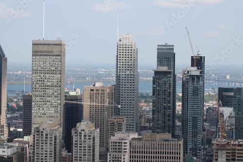 mata magnetyczna Centre ville de Montréal.