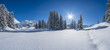Winter in den Alpen - 220694349