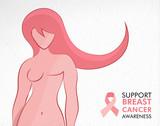 Breast Cancer Awareness survivor woman concept - 220710530