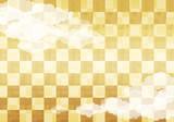 和柄 雲 背景素材 ベクター - 220718553
