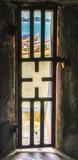 Gate of no return St George Castle Elmina Ghana Bars window - 220752304