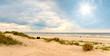 Leinwandbild Motiv Nordsee, Strand auf Langeoog: Dünen, Meer, Entspannung, Ruhe, Erholung, Ferien, Urlaub, Glück, Freude,Meditation :)