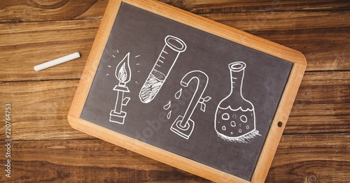 science education drawing on blackboard for school buy photos ap