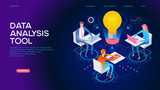 Data analysis tool Web Banner - 220767109