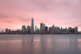 Lower Manhattan Skyline from New Jersey (early morning)