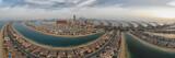 Palm Jumeirah drone view