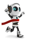 3D Roboter Illustration Sieger - 220790982