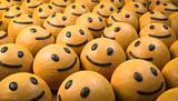 3D Illustration glückliche Gesichte - 220811777