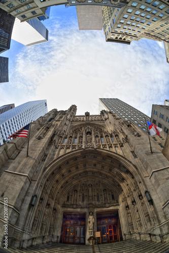 Foto Murales HDR about Saint Thomas Church, New York City