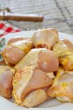 morceaux de poulet - 220829715
