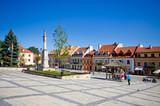 Town square of Sandomierz, Poland