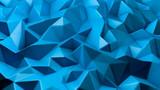 Blue crystal background..3d illustration, 3d rendering.