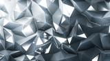 Stylish gray crystal background..3d illustration, 3d rendering.