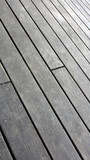 Terrasse: Holzbohlen, verwittert - 220865997